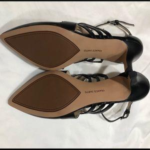 Franco Sarto Shoes - NWOT-Franco Sarto Black Pointed Heels Fernleaf 8